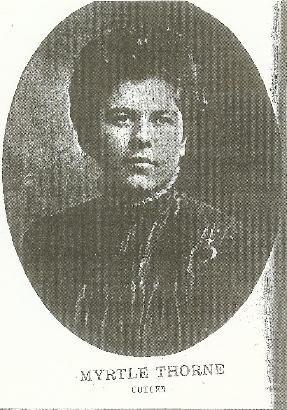 Myrtle E. Thorne Cutler